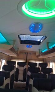 Автобус 18 мест салон