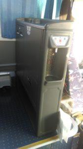 Кулер в автобусе